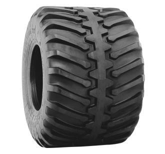 Flotation 23 Center Rib HF-2 Tires